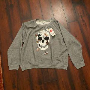 NWT wild fox sweater
